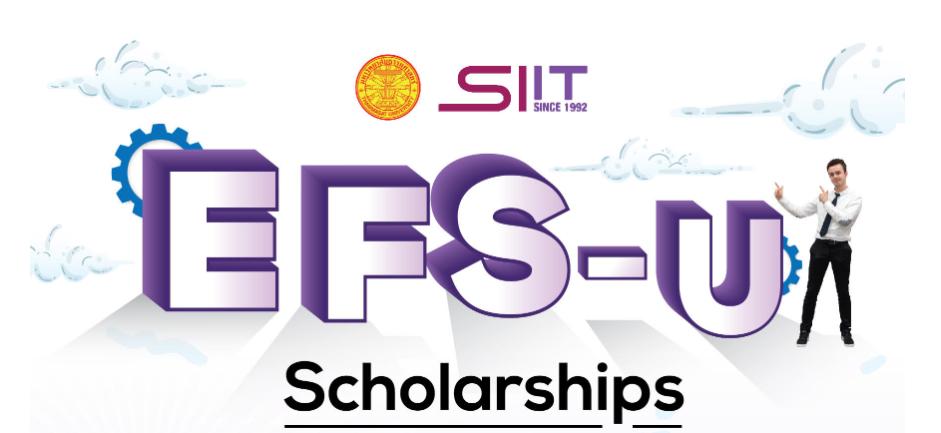 SIIT Undergraduate Scholarship Program for Excellent Foreign Students (EFS-U)