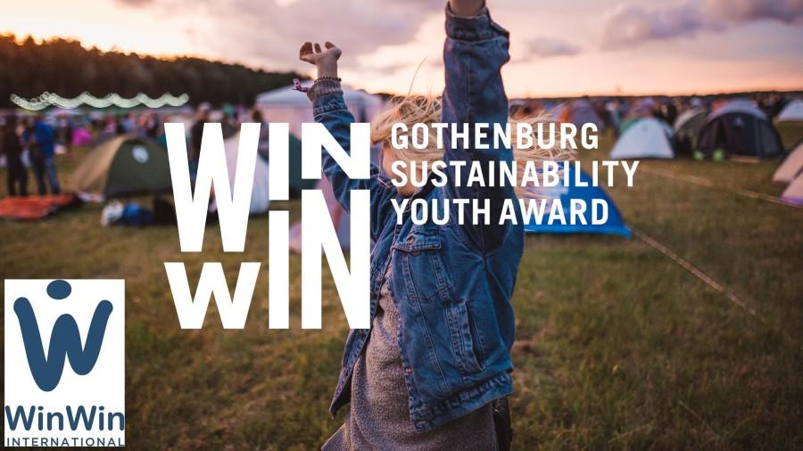 WIN WIN International Sustainability Youth Award in Gothenburg, Sweden