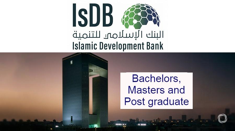 Islamic Development Bank (IsDB) Scholarships 2021/2022