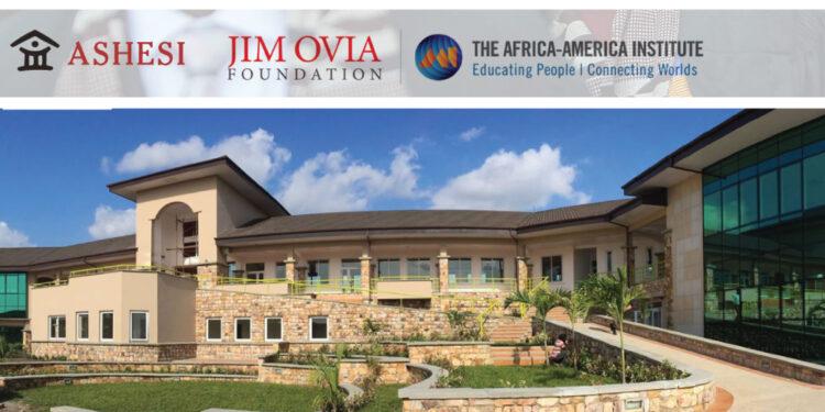 The Jim Ovia Foundation Leaders Scholarship at ASHESI University