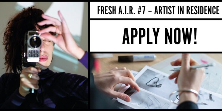 The Fresh A.I.R. scholarships offer artists and cultural professionals
