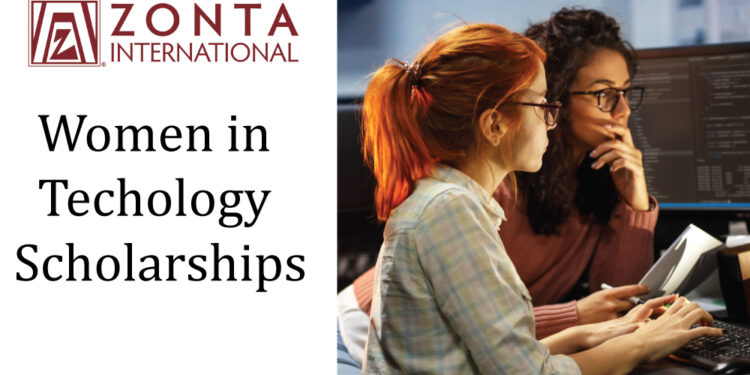 Zonta International Women in Technology Scholarship