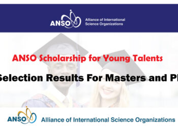 The ANSO Scholarship for Young Talents