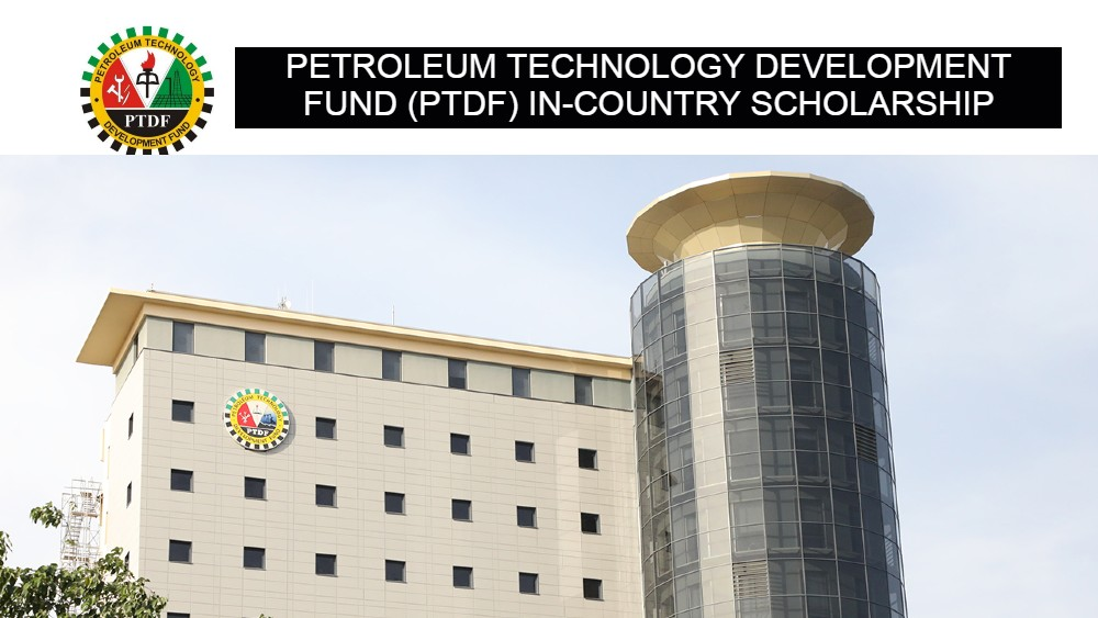 PTDF In-Country Scholarship Scheme for Undergraduate and Postgraduate