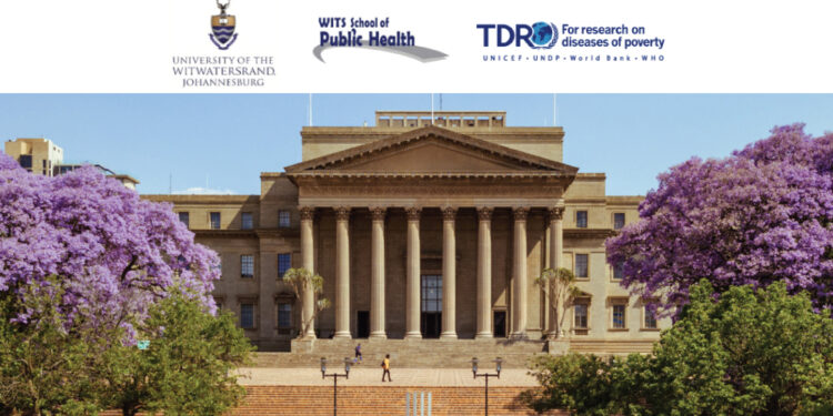 The University of the Witwatersrand TDR Postgraduate Scholarship