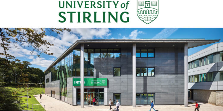 University of Stirling Ronald Miller Scholarship in the UK